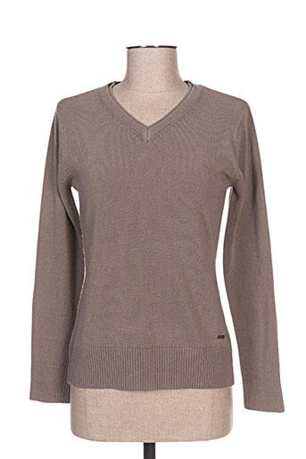 felino pulls femme de couleur gris