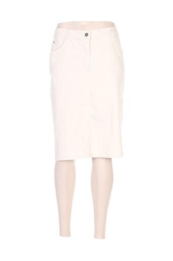 felino jupes femme de couleur beige
