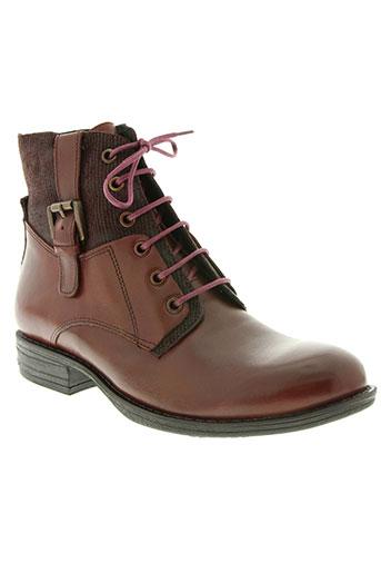madison chaussures femme de couleur rouge
