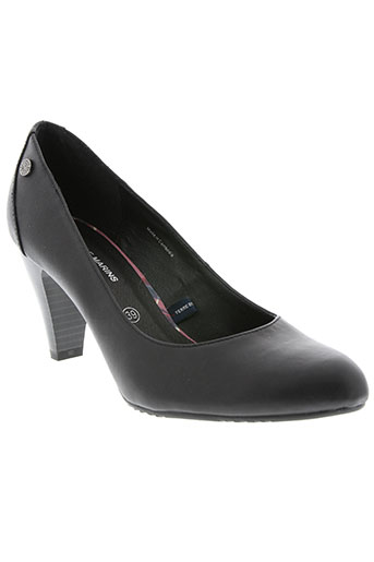terre de marins chaussures femme de couleur noir