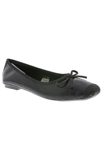 initiale paris chaussures femme de couleur noir
