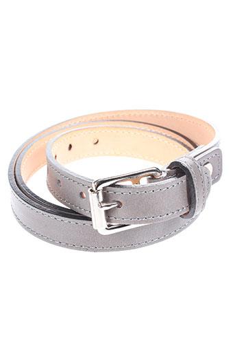 jean-louis foures accessoires femme de couleur gris