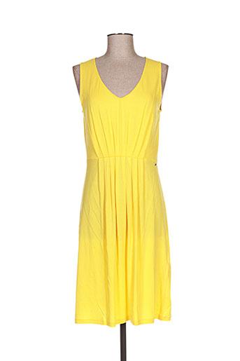 gant robes femme de couleur jaune