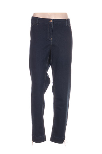 elena miro jeans femme de couleur bleu
