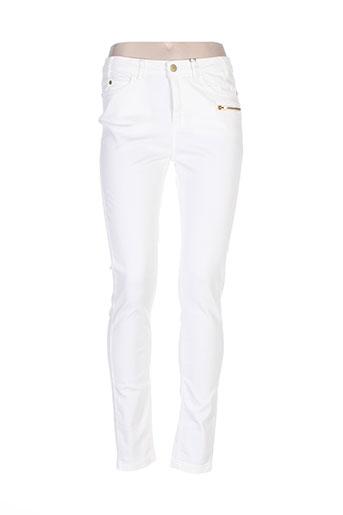wmn pantalons femme de couleur beige