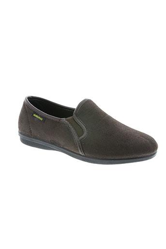 semelflex chaussures homme de couleur marron