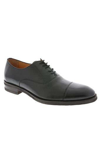 he spring chaussures homme de couleur noir