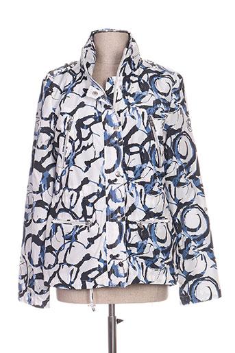 ananke manteaux femme de couleur bleu