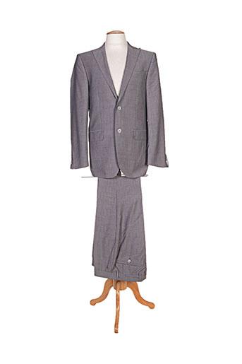 Costume de ville gris DANIEL HECHTER pour homme