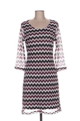 fransa robes femme de couleur violet