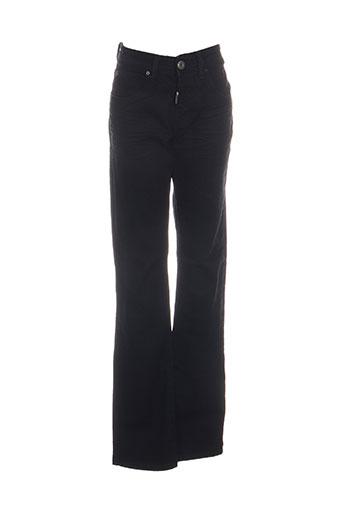 Jeans coupe droite noir BIAGGIO pour homme