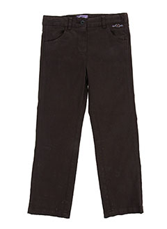 Pantalon casual marron COUDEMAIL pour fille