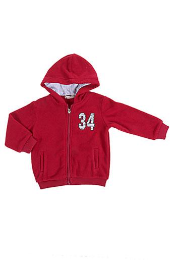 baby bol vestes enfant de couleur rouge