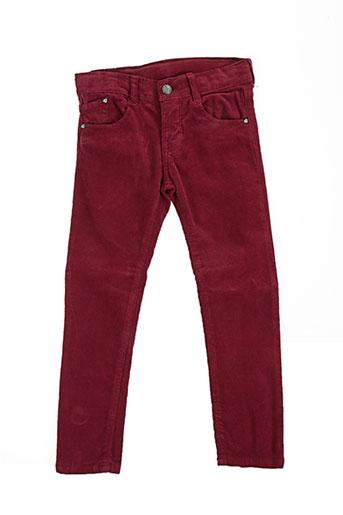girandola pantalons fille de couleur rouge