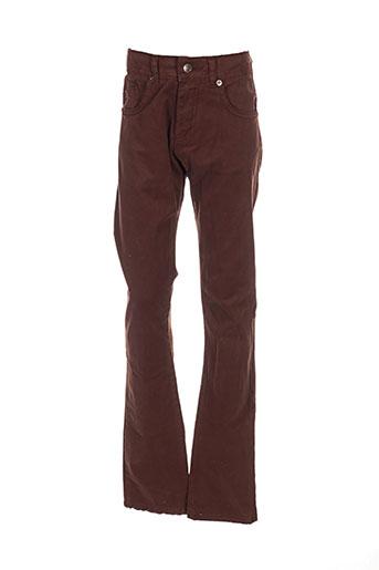girandola pantalons garçon de couleur marron