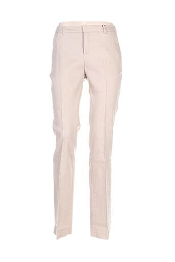 mexx pantalons femme de couleur beige
