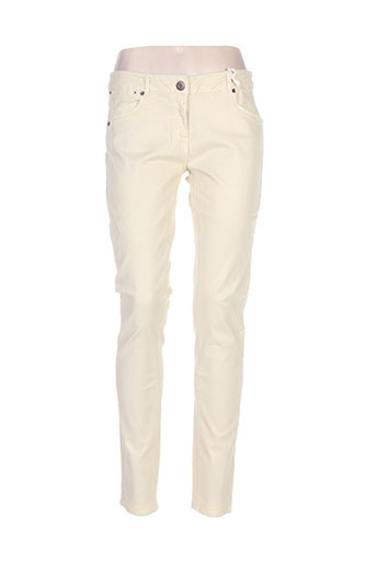 Pantalon casual beige AMERICAN OUTFITTERS pour femme