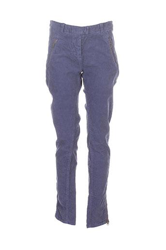 Pantalon casual bleu AMERICAN OUTFITTERS pour femme