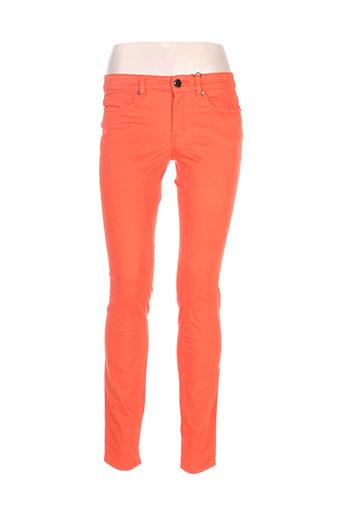 Pantalon casual orange MEXX pour femme