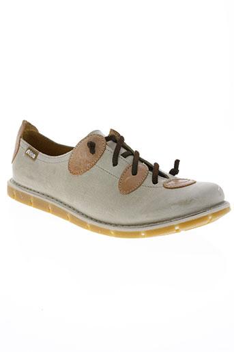 nice chaussures femme de couleur beige