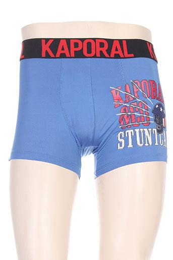 kaporal lingerie homme de couleur bleu