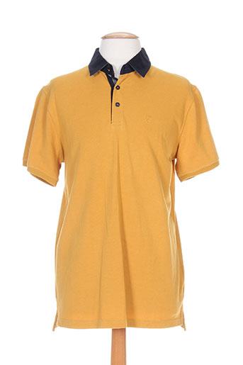 cambridge t-shirts homme de couleur jaune