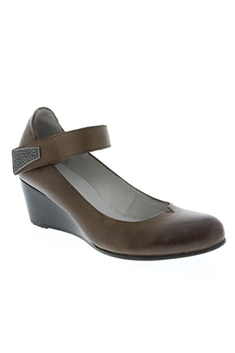 fugitive by francesco rossi chaussures femme de couleur marron