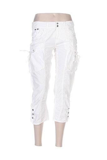 rags pantacourts femme de couleur blanc