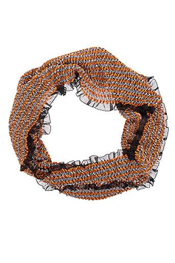 malfroy accessoires femme de couleur orange