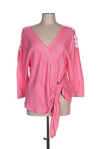 mark's ther chemises femme de couleur rose