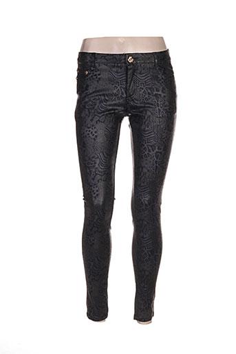 frime pantalons femme de couleur gris