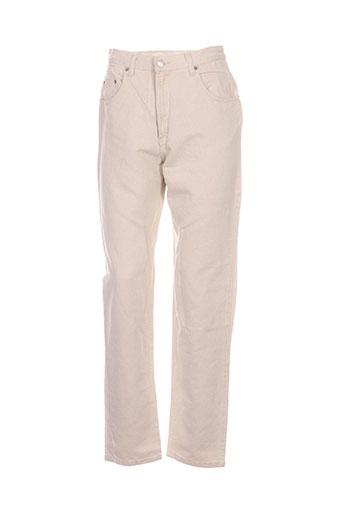 ober jeans femme de couleur beige