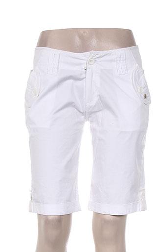 lulucastagnette shorts   bermudas femme de couleur blanc. LULU CASTAGNETTE ea218210d49