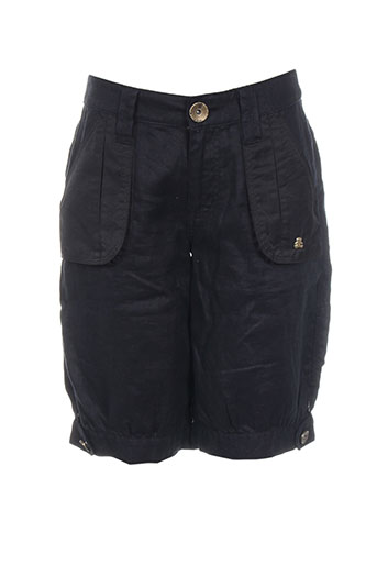 lulucastagnette shorts   bermudas femme de couleur noir. LULU CASTAGNETTE.  Bermudas taille haute ... 2b6a54f33f5