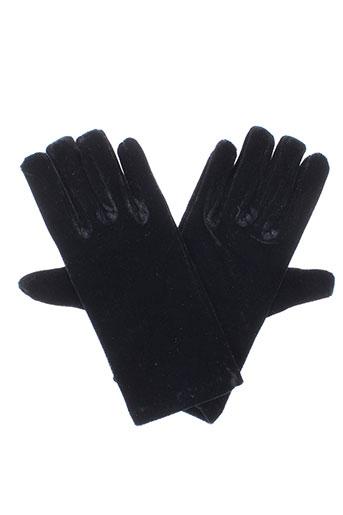 Gants noir NOIR/CLAIR pour femme