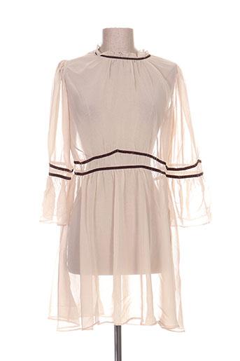 voriagh tuniques femme de couleur beige
