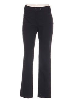 Pantalon casual noir BOSCA pour femme