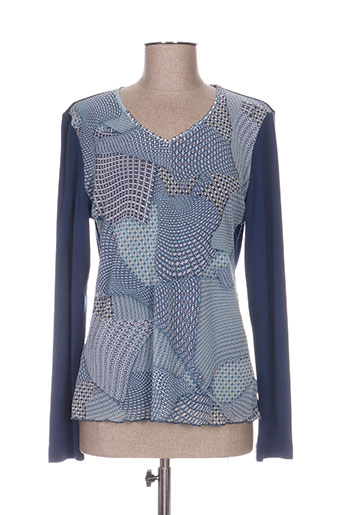 griffon chemises femme de couleur bleu