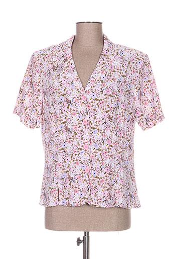 griffon chemises femme de couleur rose