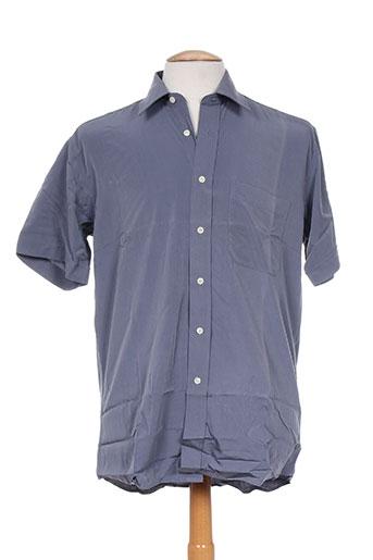 john stevens chemises homme de couleur gris