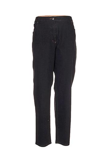 stark pantalons femme de couleur noir