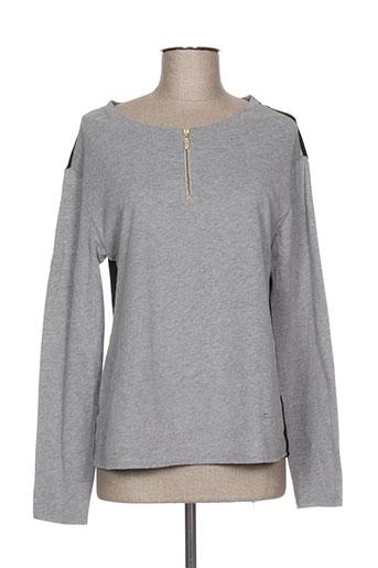 diplodocus t-shirts femme de couleur gris
