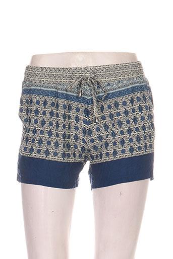goa shorts / bermudas femme de couleur bleu