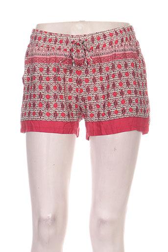 goa shorts / bermudas femme de couleur rouge