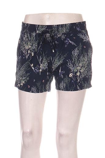 gao shorts / bermudas femme de couleur bleu