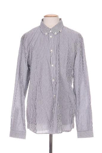 samsoe EFFI_CHAR_1 samsoe chemises homme de couleur gris