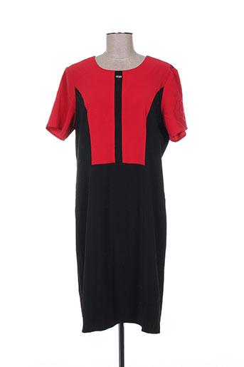 parisiennes robes femme de couleur rouge