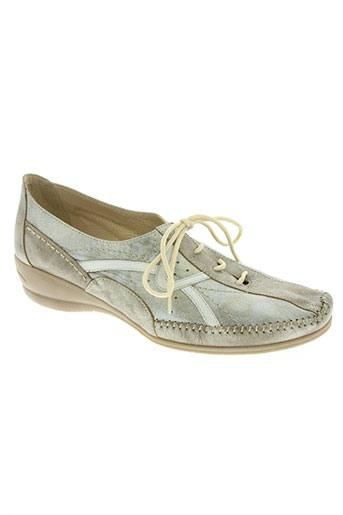 geo-reino chaussures femme de couleur jaune