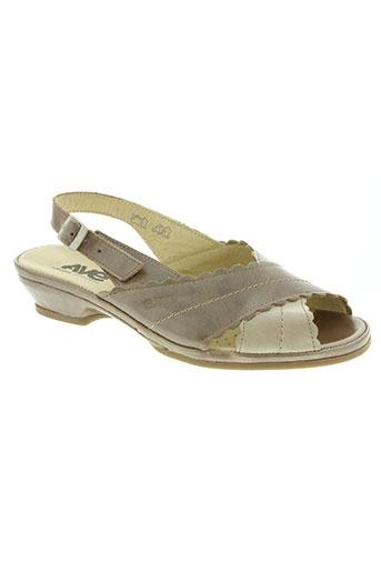 suave chaussures femme de couleur marron