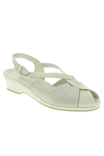 suave chaussures femme de couleur beige